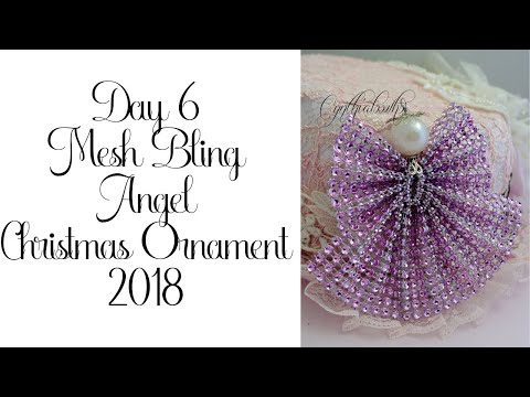 Day 6 Christmas Ornaments with Cynthialoowho 2018