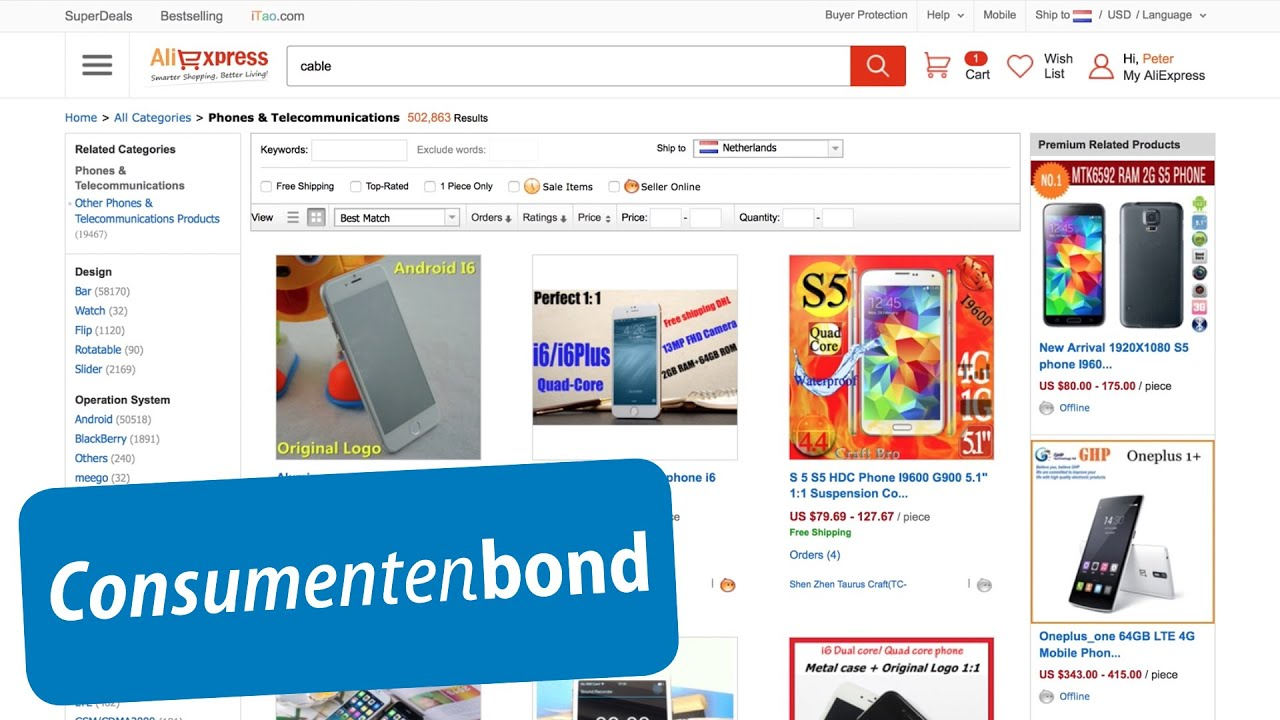 AliExpress.com - Review (Consumentenbond) - YouTube