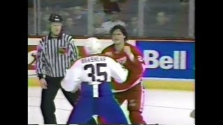 Bob Probert vs Donald Brashear Round 1 - three feeds