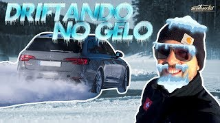 450 Cv Em Um Lago Congelado! Cassio Acelera O Novo Rs 4 Avant No Audi Ice Experience - Acelerolê #33