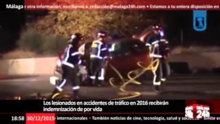 Los lesionados en accidentes de tráfico en 2016 recibirán indemnización de por vida