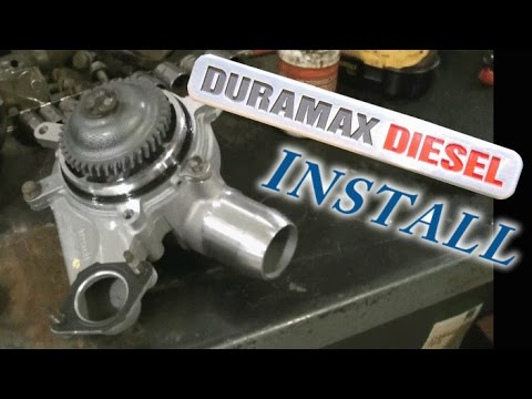 04 duramax lb7 water pump install replacement youtube04 duramax lb7 water pump install replacement
