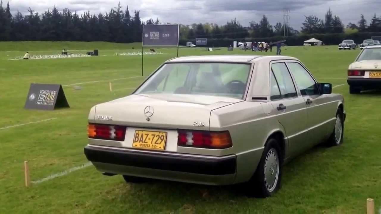 Mercedes benz w201 190e 2 6 1991