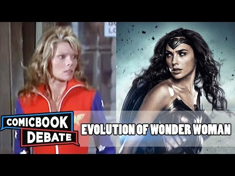 Evolution of Wonder Woman in Movies & TV in 4 Minutes (2017)