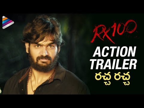 RX 100 Action Trailer   Kartikeya   Payal Rajput   #RX100   2018 Telugu Movies   Telugu FilmNagar