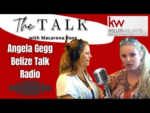 Angela Gegg Belize Talk Radio with Macarena Interview