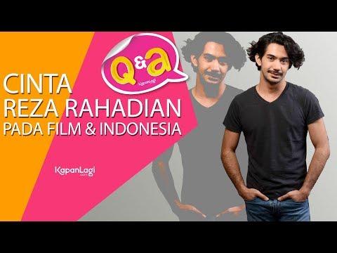 Q&A With Reza Rahadian - Cinta Pada Film & Indonesia