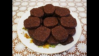 ПЕСОЧНОЕ ШОКОЛАДНОЕ печенье Рецепт МАКОВОГО печенья БЕЗ ЯИЦ выпечка рецепты
