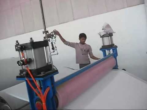 Nonwoven chemical bond interlining production line
