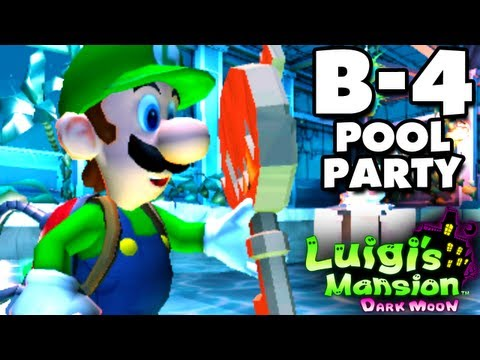 Luigi's Mansion Dark Moon - Haunted Towers - B-4 Pool Party