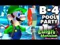 Luigi's Mansion Dark Moon - Haunted Towers - B-4 Pool Party (Nintendo 3DS Gameplay Walkthrough)