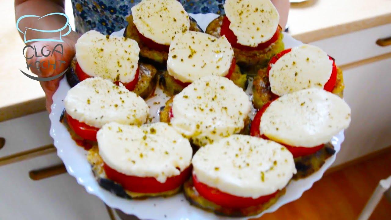 Tomaten Auberginen Antipasti   Antipasti selber machen