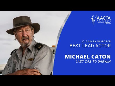 Michael Caton wins Best Lead Actor at the 5th AACTAs