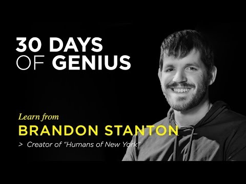 Humans of New York on CreativeLive | Chase Jarvis LIVE | ChaseJarvis