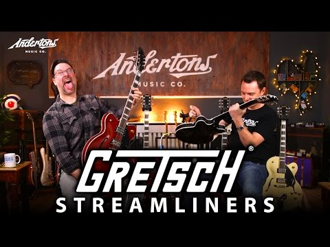Gretsch Streamliner Guitars - So Good That Rob Bought One!