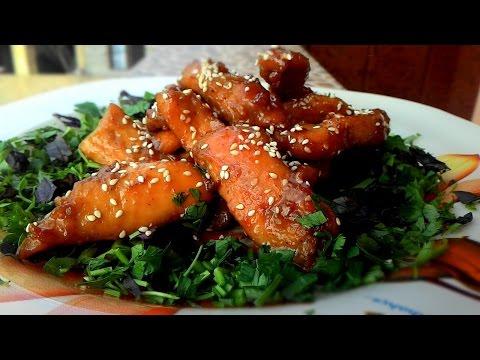 Куриные грудки по-восточному, Chicken breast with oriental