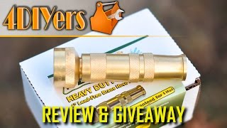Review: The Worlds Best Brass Hose Nozzle with Giveaway