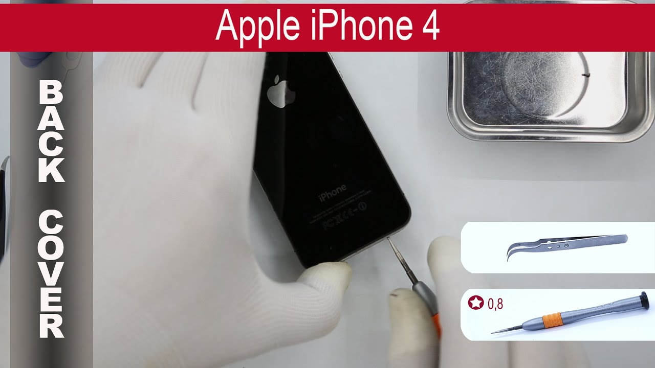 how long is an iphone 4 how to open the back cover apple iphone 4 replacement 2681