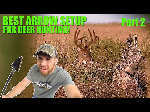 How To Build The BEST Arrow Setup For Bowhunting! - W/ RANCH FAIRY!