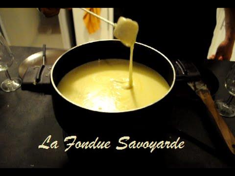 recette de la fondue savoyarde