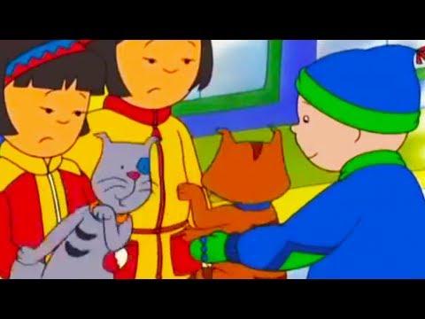 Caillou en français - Caillou et le Combat de Chat d'hiver | conte pour enfant | dessin anime