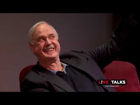 John Cleese answers audience questions with Eric Idle at Live Talks Los Angeles