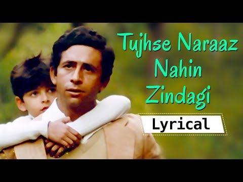 Tujhse Naraaz Nahin Zindagi Lyrical Video Song Masoom Songs Naseeruddin Shah Jugal Hansraj