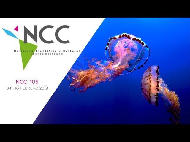 Noticiero Científico y Cultural Iberoamericano, emisión 105. 04 al 10 de febrero 2019.