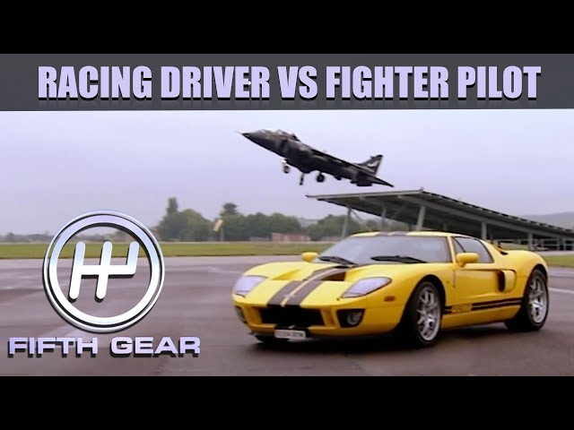 Racing Driver VS Fighter Pilot! | Fifth Gear Classic