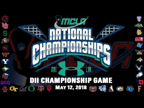 MCLA D2 National Championship: No. 1 St. Thomas vs No. 2 North Dakota State