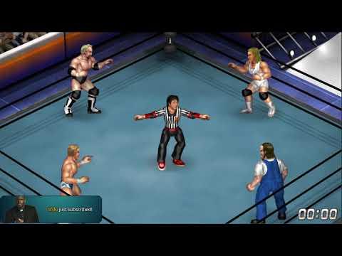 nL Live - Fire Pro Wrestling World Matches!