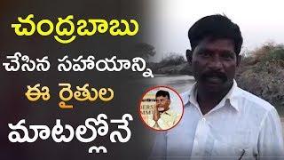 చంద్రబాబు చేసిన సహాయాన్ని ఈ రైతుల మాటల్లోనే | CM ChandraBabu Naidu | Farmers | #TDP | Telugu Insider