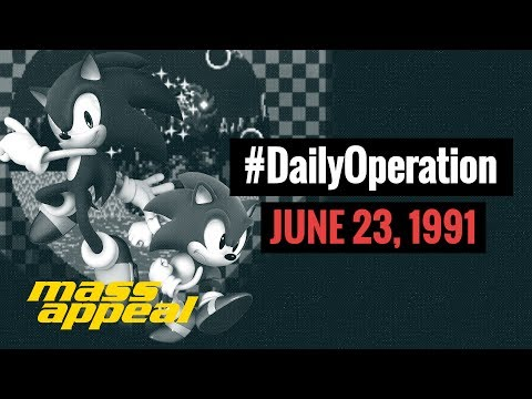 Daily Operation: Sega Releases Sonic the Hedgehog (June 23, 1991)