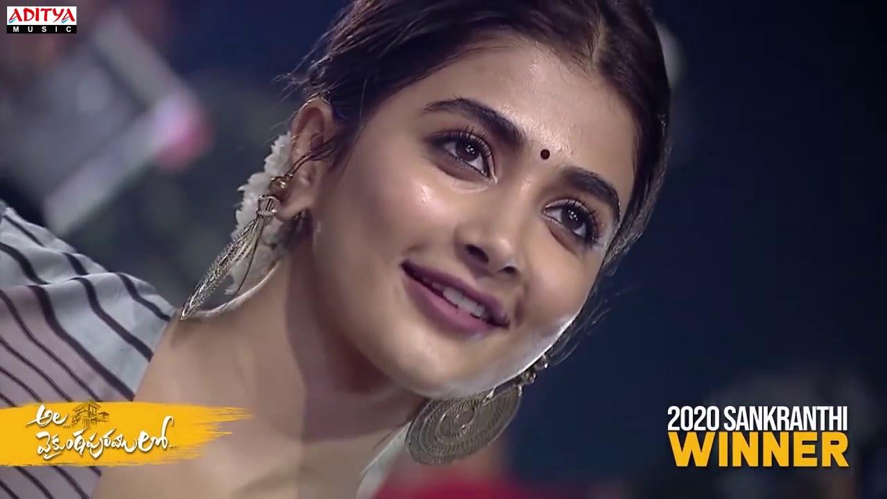Butta Bomma Song Performance By Singer Raghu Ram Ala Vaikunthapurramuloo Success Celebrations Youtube