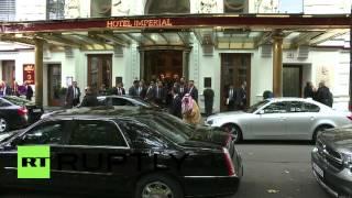 Austria: Lavrov arrives in Vienna for Middle East Quartet meeting