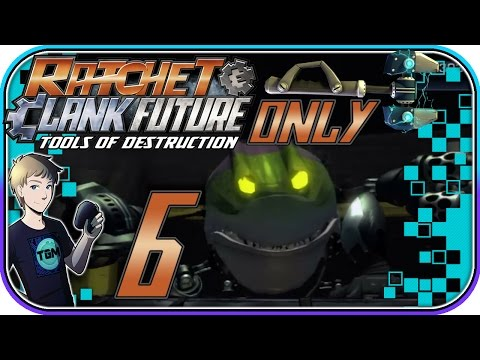 Ratchet & Clank: Tools of Destruction (WRENCH ONLY!) - Part 6: Mukow Arena - Crushto Boss!