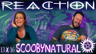 "Supernatural 13x16 REACTION!! ""Scoobynatural"""