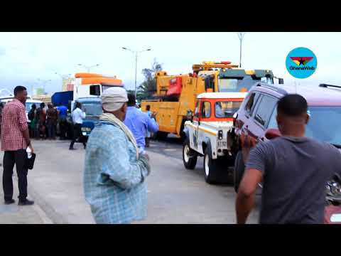 15 cars involved in chain collision on Accra-Tema motorway