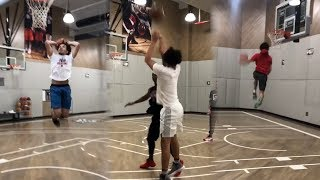 Cole Anthony | Workout | UNC Tar Heels 2019 PG Priority