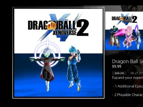 HOW TO DOWNLOAD DLC PACK 4 US PS4 DRAGONBALL XENOVERSE 2