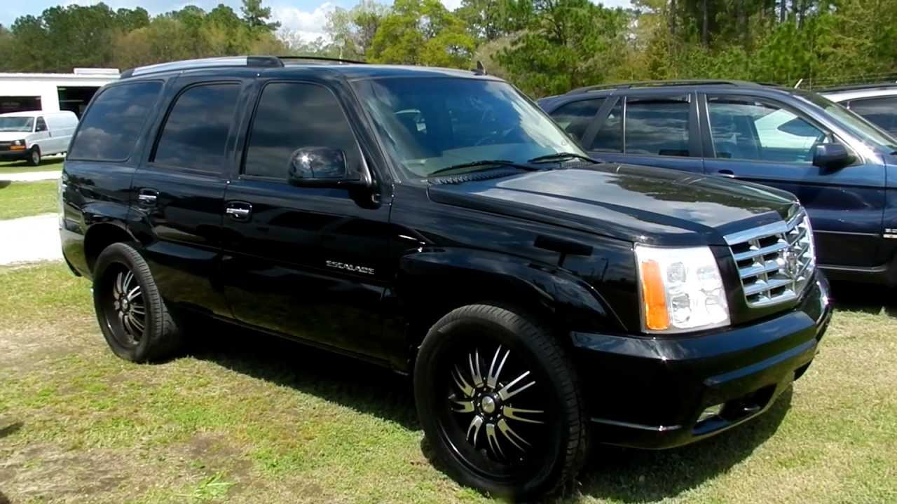 2006 cadillac escalade for sale review charleston sc. Black Bedroom Furniture Sets. Home Design Ideas
