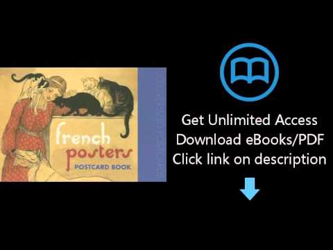 Download French Posters Postcard Book PDF
