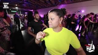 Onassaka & Kristel - social dancing @ Int'L Salsa Shines Contest