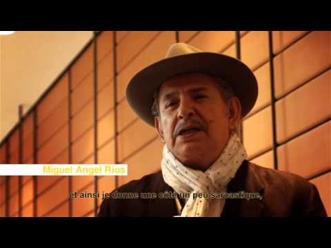 Interview de l'artiste Miguel Angel Rios - Biennale d'art contemporain de Lyon - 2015