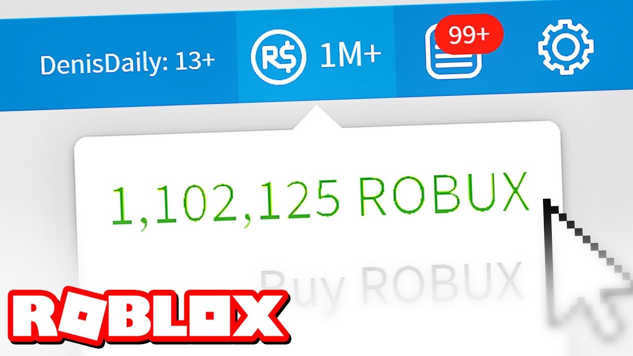 ONE MILLION ROBUX!! - YouTube