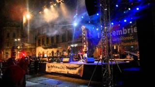 Dj Project ft Adela Popescu - Mi-e dor de noi (1 Decembrie 2012) Cluj Napoca