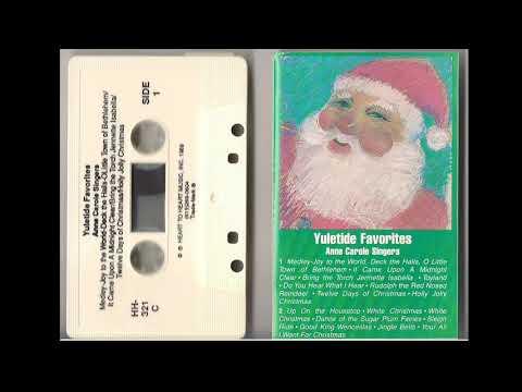 Yuletide Favorites Anne Carole Singers Cassette
