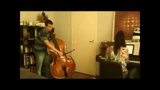 BOTTESINI: Elegy. Trying a double bass by Domenico Degani and bel canto strings with our friend Pati