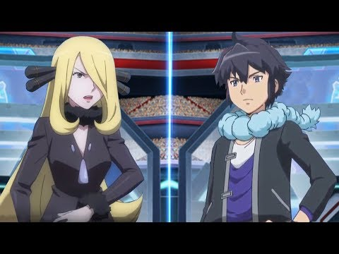 Pokemon Battle USUM: Cynthia Vs Alain (Pokémon Champion Face Off!)