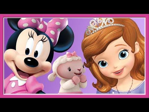 Minnie Mouse, Sofia The First, Doc McStuffins - Dancing Games Compilation - Disney Junior Kids Games